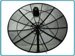 240cm CKu-Band Prime Focus Mesh Satellite Dish